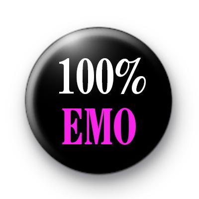 100% Emo Badges