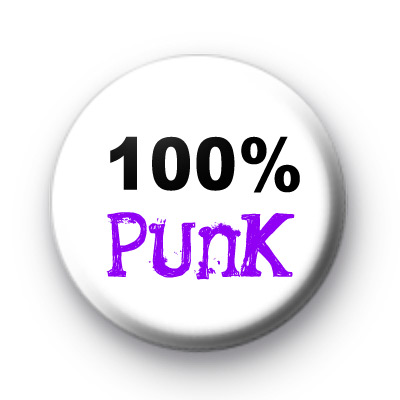 100% PUNK Badges