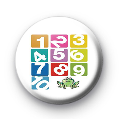 123 Frog badge