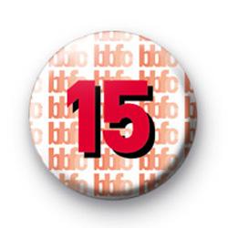 15 Certificate badges