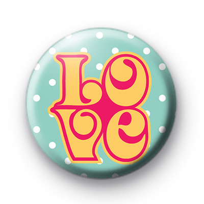 1960s LOVE Badge