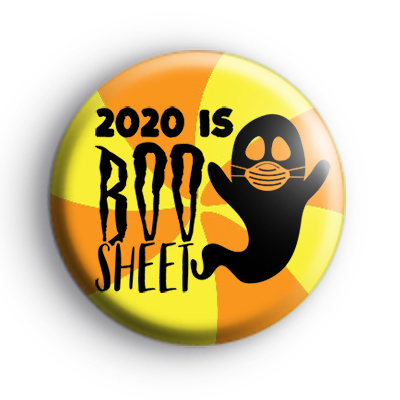 2020 Is BOO Sheet Badge