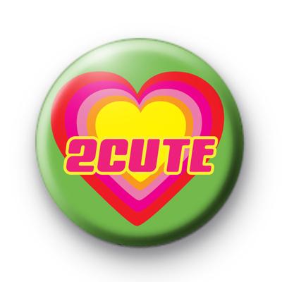 2 Cute Button Badge