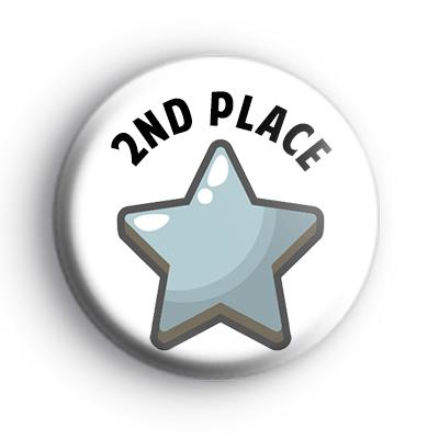 2nd Place Silver Star Award Badge