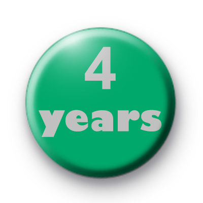 4 years custom badge