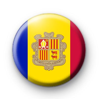 Andorra Flag Badge