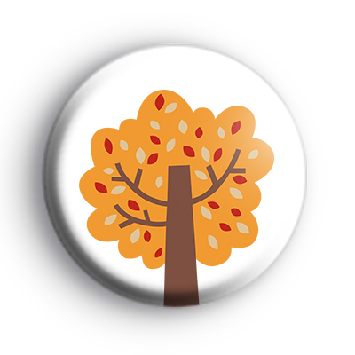 Autumn Tree Badge