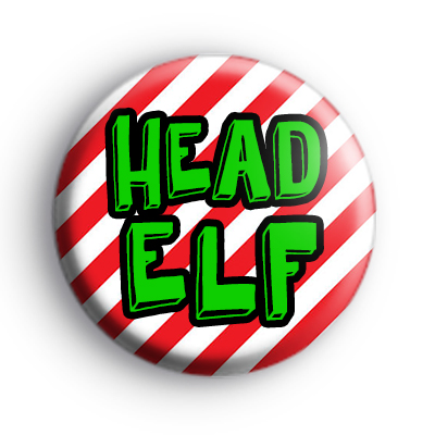 Custom Santa's Helper ELF Badges