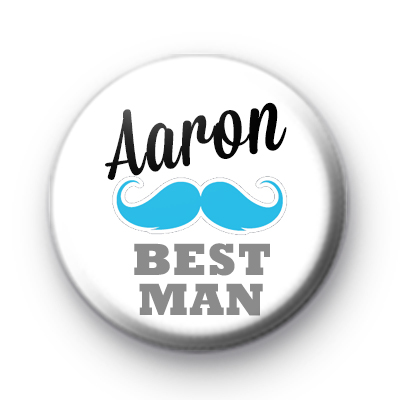 Custom Wedding Guest Moustache Badge