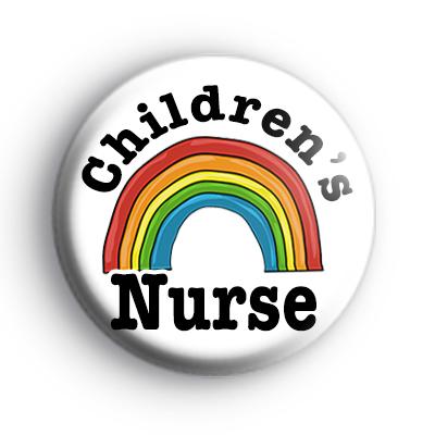 Childrens Nurse Rainbow Badge
