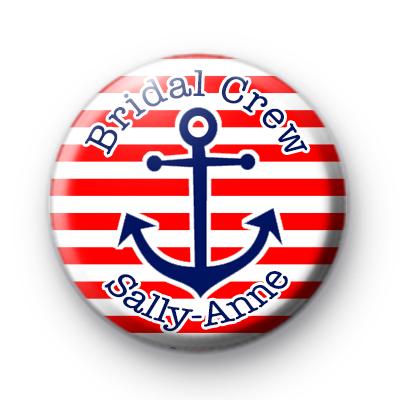 Custom Anchor Hen Party Name Badge