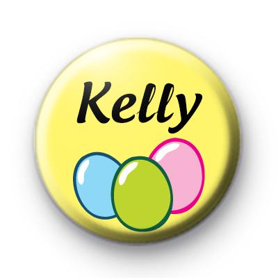 Custom Name Easter Egg Button Badge