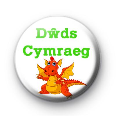 Dwds Cymraeg Welsh Dragon Badge