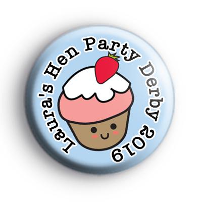 Cupcake Hen Party Badge