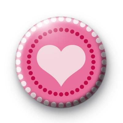 Dotty Hearts Badge