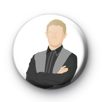 Dr. Watson Button Badge