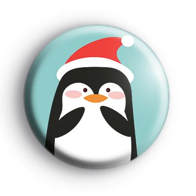 Xmas Penguin Badge