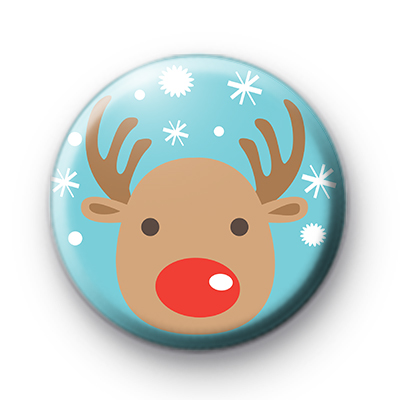 Sweet Reindeer Button Badge