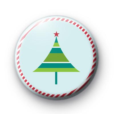 Festive Funky Tree Badges
