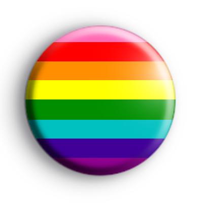 LGBTQ Rainbow Pride Flag Badge 8 Colours