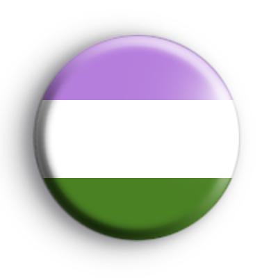 Genderqueer Flag Badge