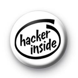 Hacker Inside Badge