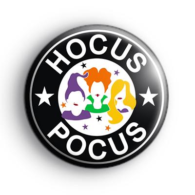 Hocus Pocus Halloween Witch Badge