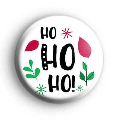 Holiday HoHoHo Badge