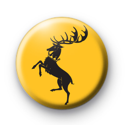 Game of Thrones House Baratheon badges