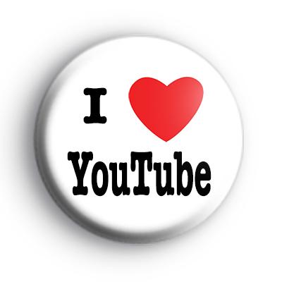 I Love YouTube Badge