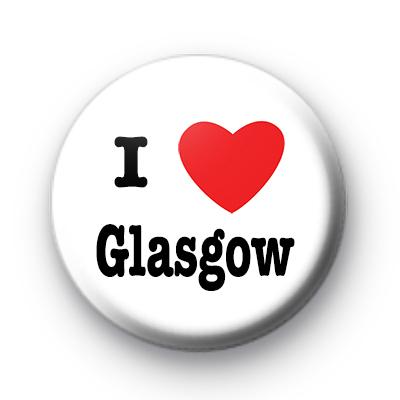 I Love Glasgow badges
