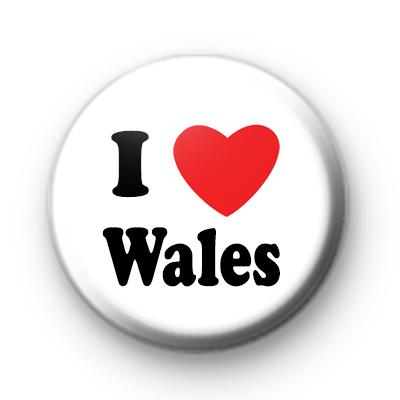 I Love Wales badges