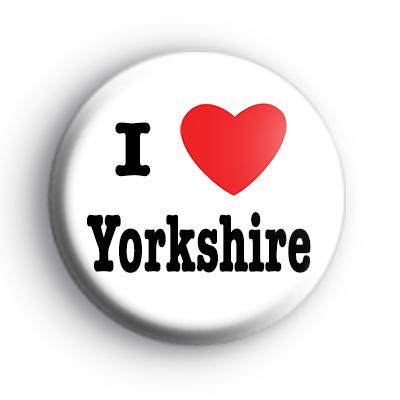 I Love Yorkshire Badge