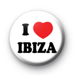 I Love IBIZA Badges