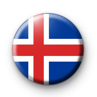 Icelandic Flag Badge