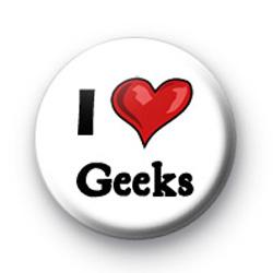 I Love Geeks badges