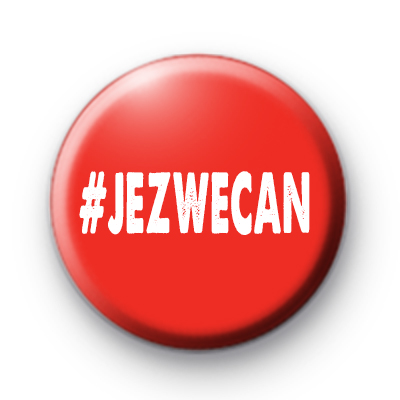 Jez We Can Labour Pin Badge