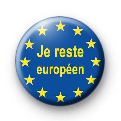 Je reste europeen