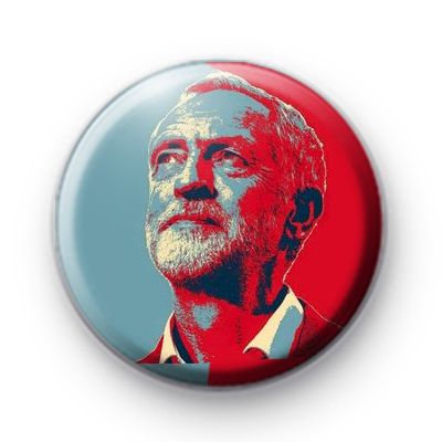 Jeremy Corbyn HOPE Button Badge