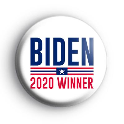 Biden 2020 US Election Winner Badge