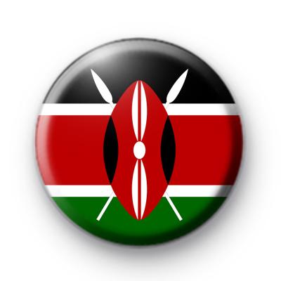 Kenyan Flag Badge