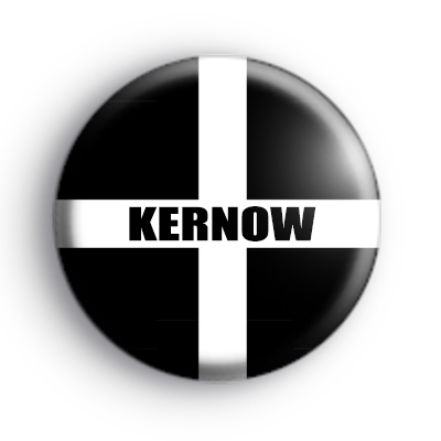 Cornish Kernow Flag Badge