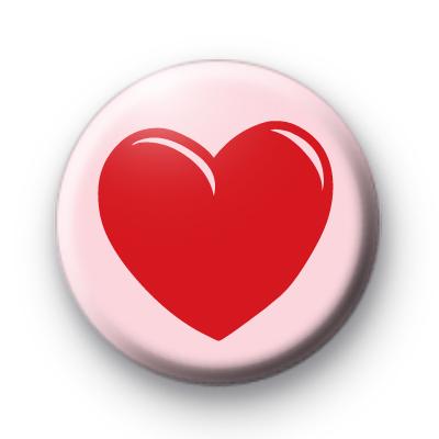 Love It Valentines Badge