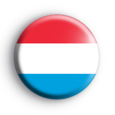 Luxembourg National Flag Badge