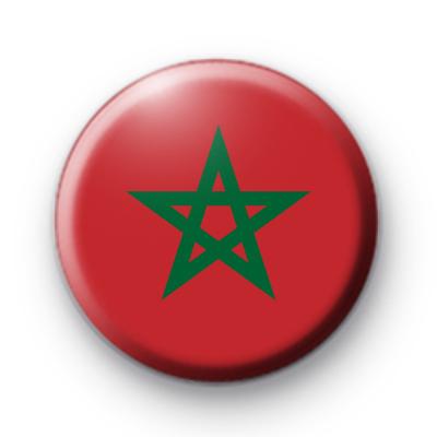 Moroccan Flag Badge