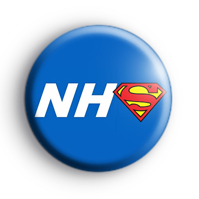 NHS Superhero Badge