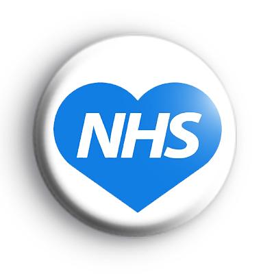 Love Heart NHS Badge