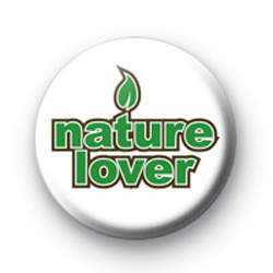 Nature Lover Button Badge