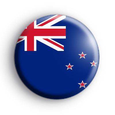 New Zealand National Flag Badge
