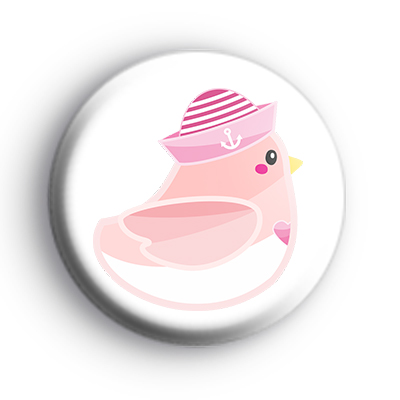 Seagull Pink  Badge